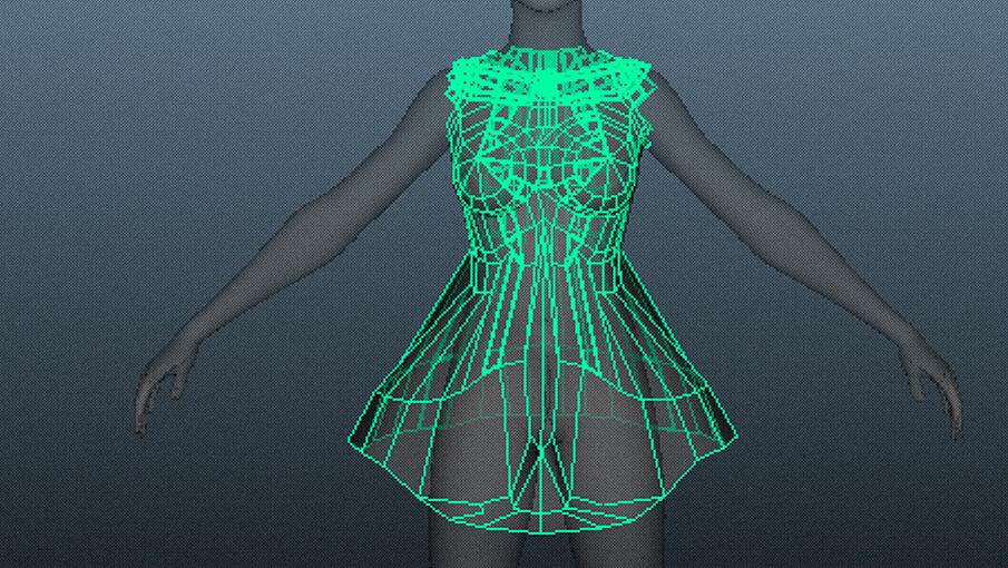 3Dスキャン×ファッション
